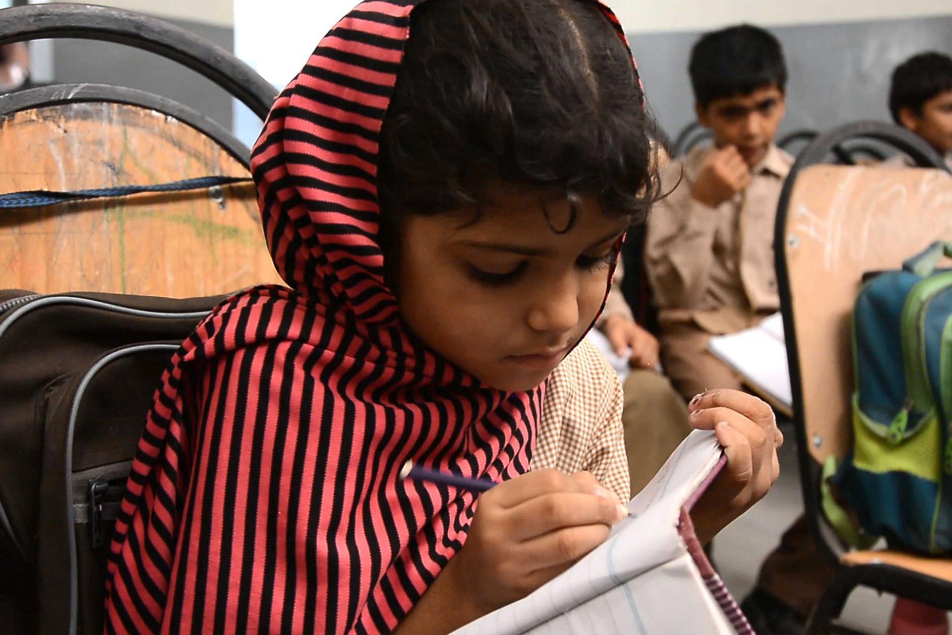 Die nehemia Schulen in Karachi/Pakistan