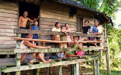 Die Dayak auf Borneo