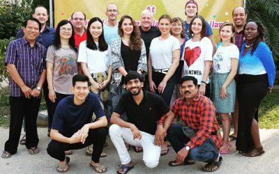 Internationales Netzwerktreffen in Thailand